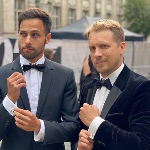 Gemeinsam auf der Weltpremiere von James Bond