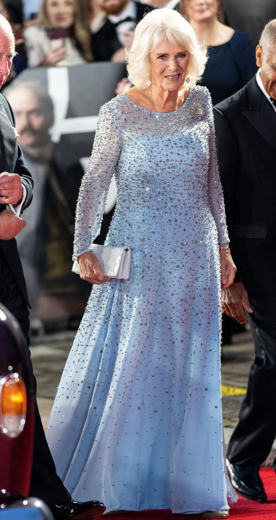 Herzogin Camilla auf dem roten Teppich
