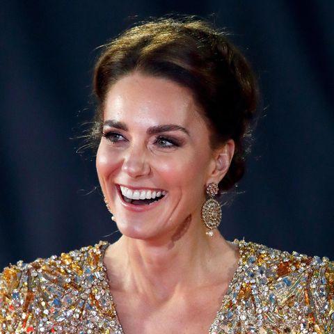 Herzogin Catherine: Hat sie sich für die Bond-Premiere von Diana inspirieren lassen?