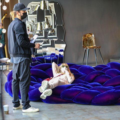 Heidi Klum und Tom Kaulitz beim Couch-Shoppen