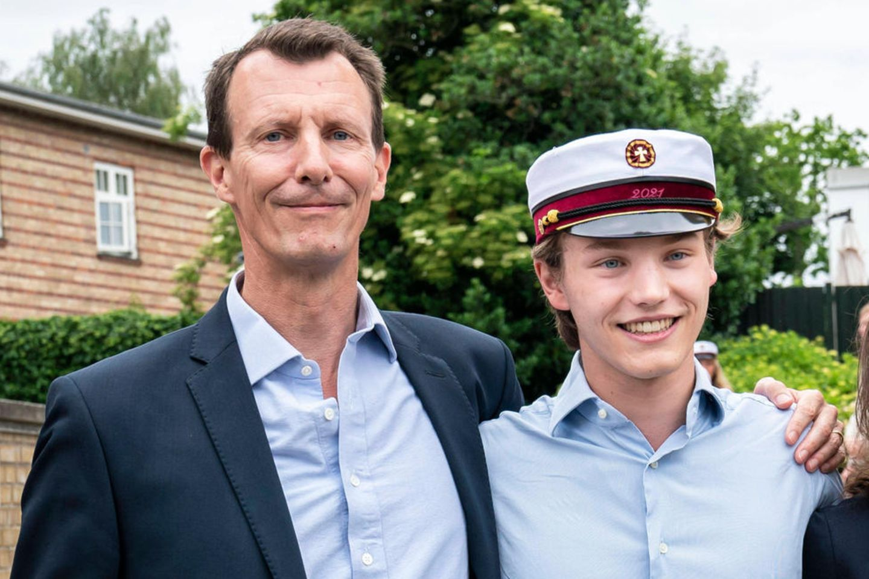 Prinz Felix mit seinem Vater Prinz Joachim