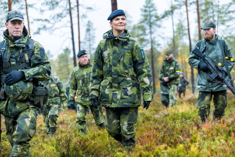 Schwedische Royals: Prinzessin Victoria nimmt an einer Militärübung teil