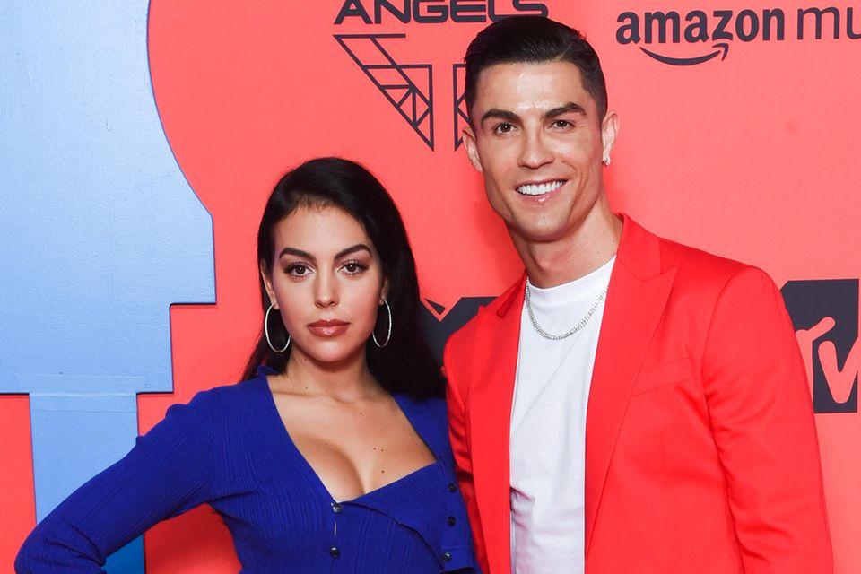 Georgina Rodriguez undCristiano Ronaldo
