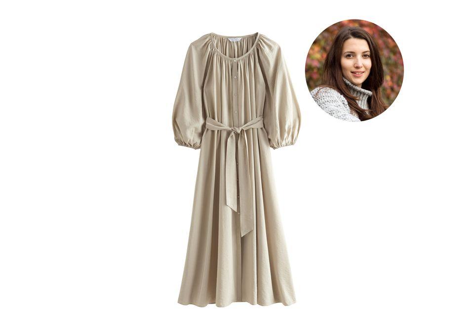 Redakteurin Ilka liebt es, den neuen Schwung in der Modebranche zu sehen. Materialien werden neu gedacht – auch beimViskose-Kleid, das ihr neustes Lieblingsstück ist.
