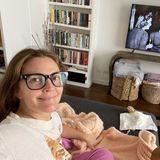 Drew Barrymore zeigt ihr Wohnzimmer