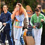 Joe Jonas, Sophie Turner und Nick Jonas unterwegs mit Baby Willa
