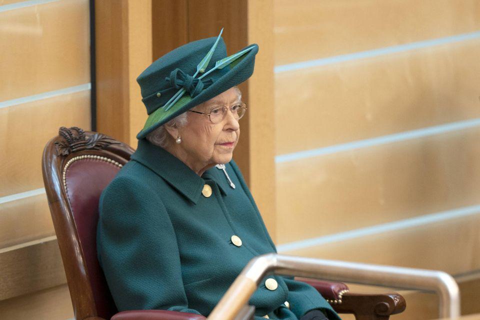 Queen Elizabetherinnerte während ihrer Rede vor dem schottischen Parlament an Prinz Philip und ihre gemeinsame Liebe zu Schottland.