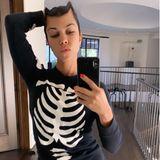 Kourtney Kardashian im Halloween-Fieber