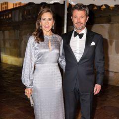 Prinzessin Mary und Kronprinz Frederik besuchen das Regierungsdinner in Fredensborg