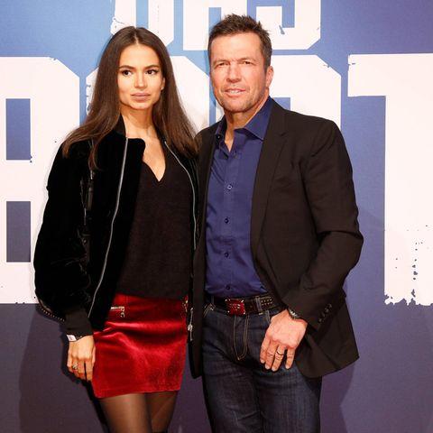 Anastasia und Lothar Matthäus
