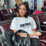 Olivia Culpo am Flughafen in Paris