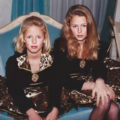 Nicky Hilton und Paris Hilton: süßes Kinderfoto