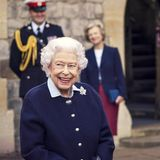Queen Elizabeth in Windsor