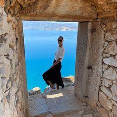 Ana Ivanovic schickt Urlaubsgrüße