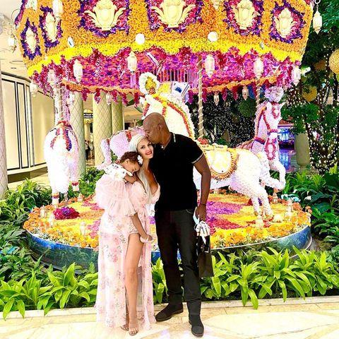 Sophia Vegas mit Tochter Amanda und Ehemann Daniel Charlier