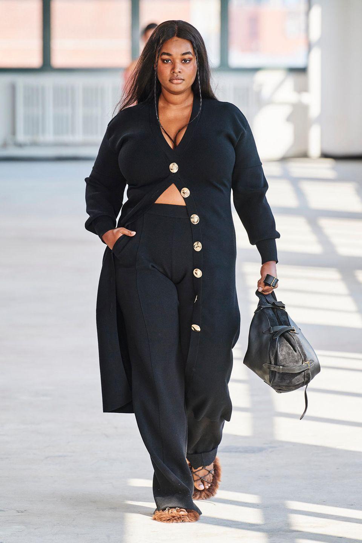 New York Fashion Week: Model läuft für Altuzarra
