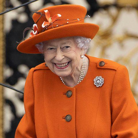 Beim Start des Queen's Baton Relay für die Commonwealth Games 2022 in Birmingham