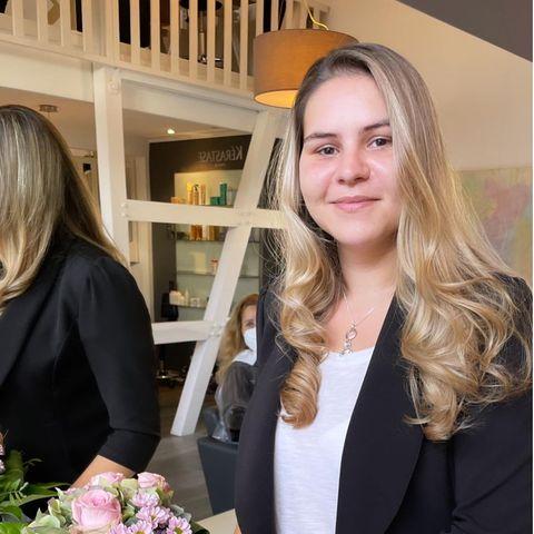 Sylvana Wollny mit ihrem neuen Haarschnitt