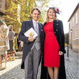Zu der großen Zahl der Hochzeitsgäste gehören auch Schauspieler Wolfgang Bahro und seine Ehefrau Barbara.