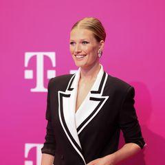 Wer sonst noch feiert: Toni Garrn beim Telekom Event in Bonn
