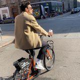 Stars auf dem Fahrrad: Mats Hummels radelt in Kopenhagen