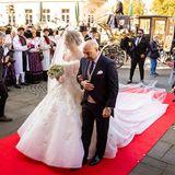 Royale Hochzeit von Mahkameh Navabi und Alexander Fürst zu Schaumburg-Lippe