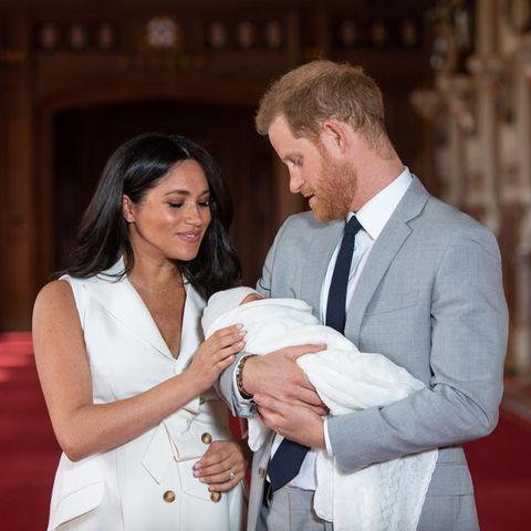 Herzogin Meghan, Archie und Prinz Harry