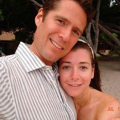 Bund fürs Leben: Alyson Hanningan und Alexis Denisof feiern 18. Hochzeitstag