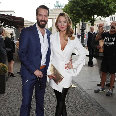 Alec Völkel mit seiner Frau Johanna