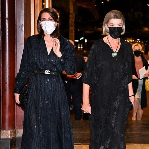 RTK: Charlotte Casiraghi und Mutter Caroline bei Preisverleihung