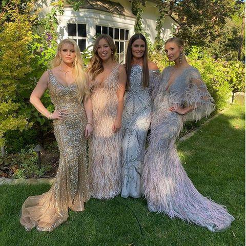 Prominente Hochzeitsgäste mit Stil: Die Wedding-Looks der Stars