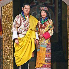 Königshaus Bhutan: Jigme Khesar Namgyel Wangchuck und Jetsun Pema Hochzeitstag