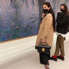 Familie: Demi Moore mit Tochter Scout Willis im Museum