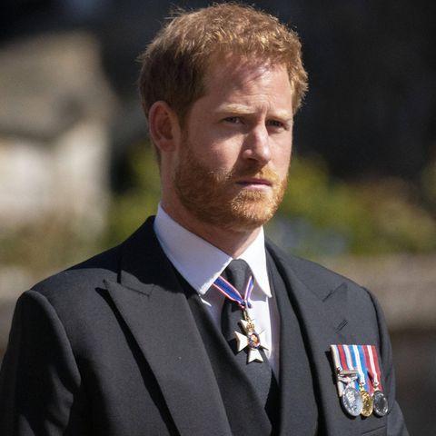 Bei der Beerdigung von Prinz Philip