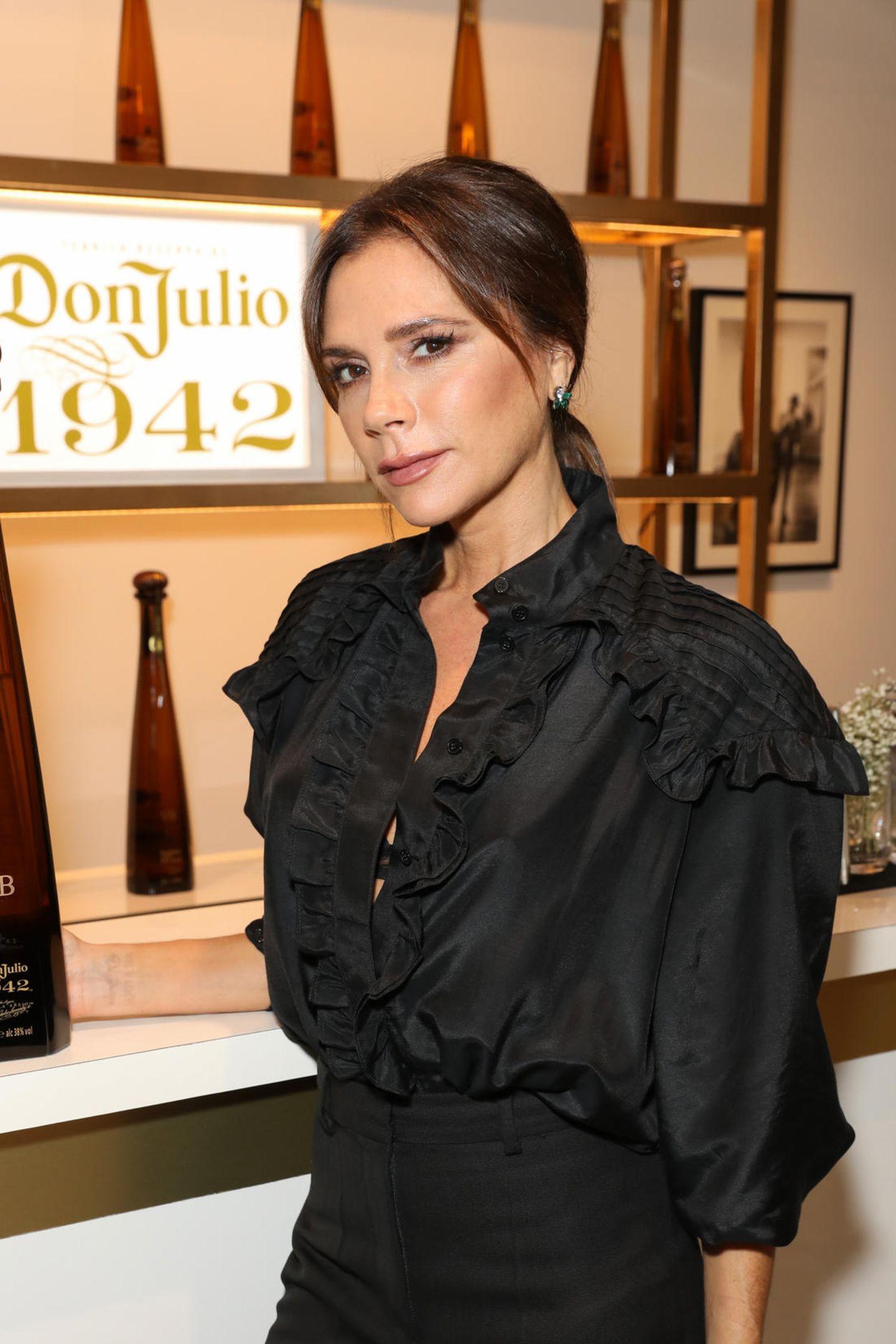 Victoria Beckham 2019 mit deutlich weniger Botox in den Lippen (2019)
