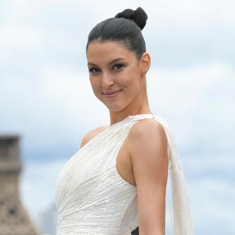 Bei der Fashion Week in Paris