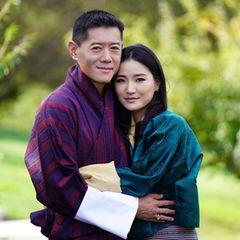 Königshaus Bhutan: Offizielles Foto zum 10. Hochzeitstag