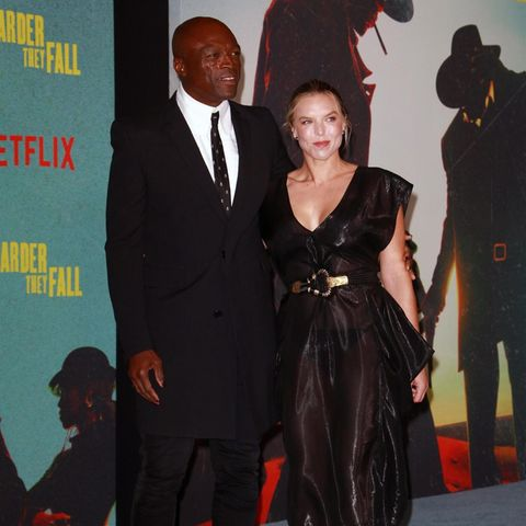 Seal brachte erstmals seine Freundin Laura Strayer mit zu einem öffentlichen Auftritt.