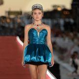 Leni Klum auf dem Laufsteg der Dolce & Gabbana-Show in Venedig
