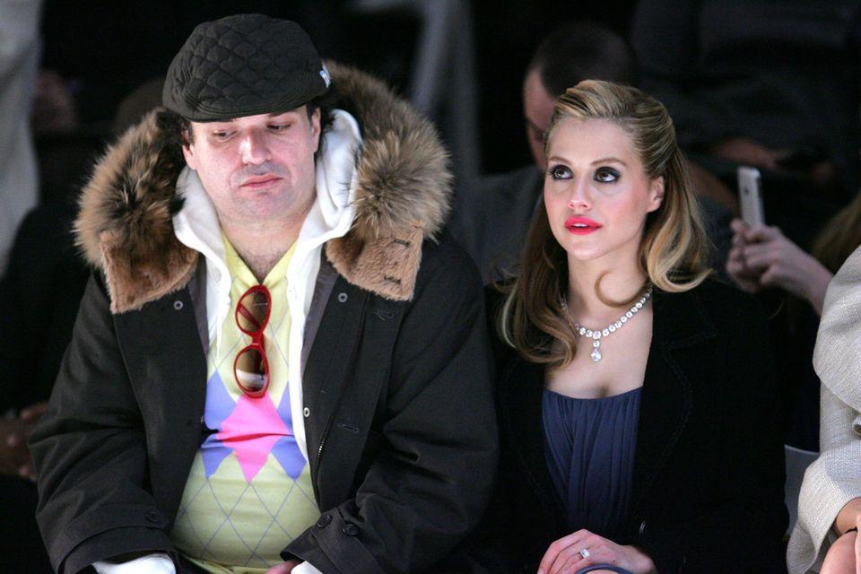 Simon Monjack (†40) und Brittany Murphy (†32) bei der New York Fashion Week im Herbst, 2008 – gut ein Jahr vor ihrem Tod.