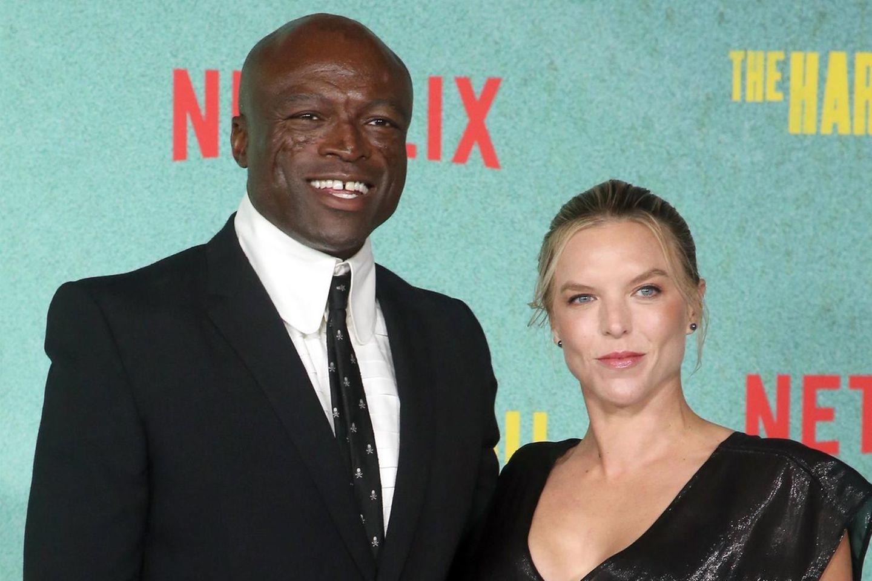 Sealbrachte erstmals seine Freundin Laura Strayer mit zu einem öffentlichen Auftritt.