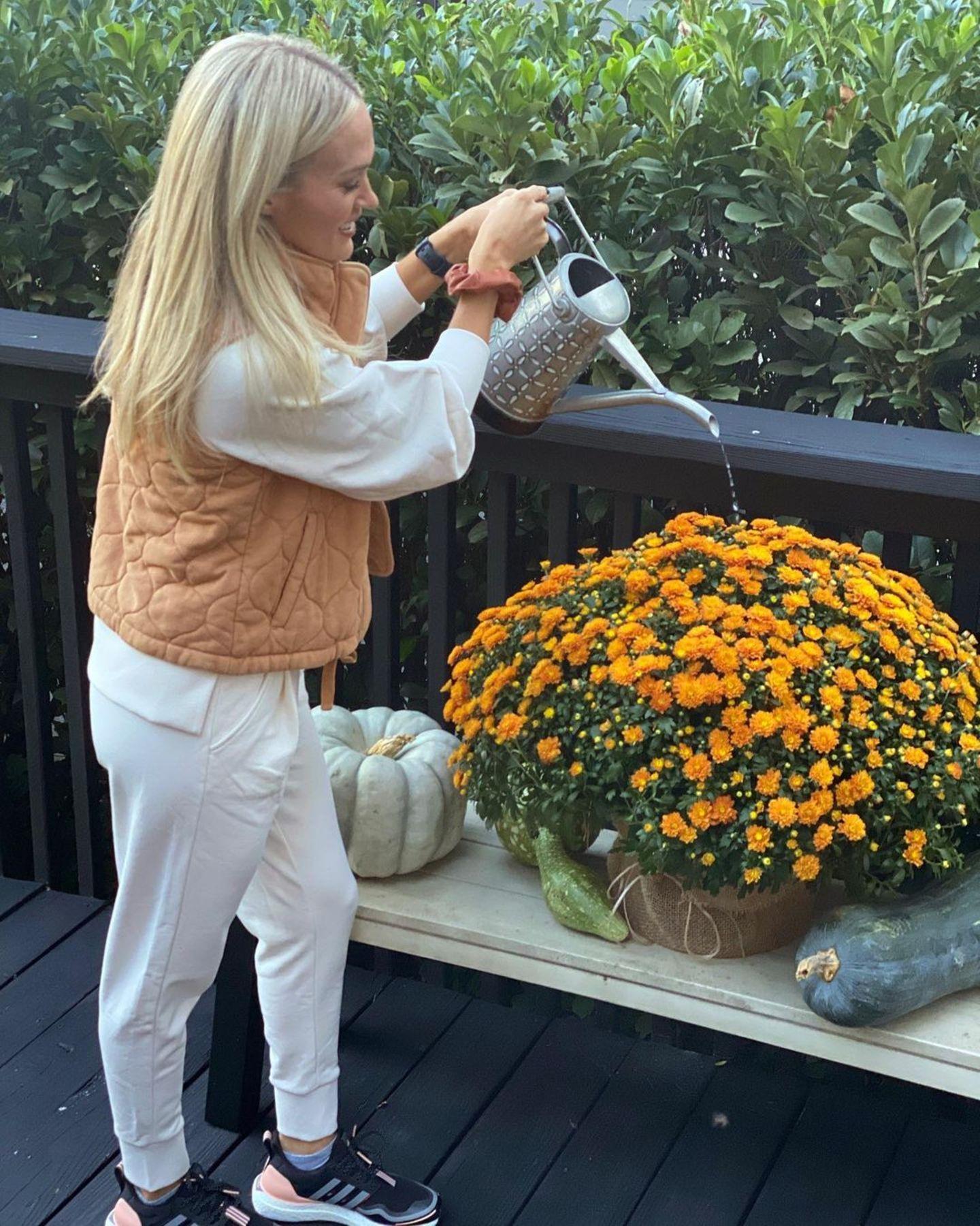 Stars lieben Blumen: Carrie Underwood
