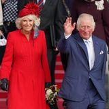 Windsor RTK: Herzogin Camilla und Prinz Charles