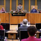 Windsor RTK: Die Queen, Prinz Charles und Camilla bei Parlamentseröffnung