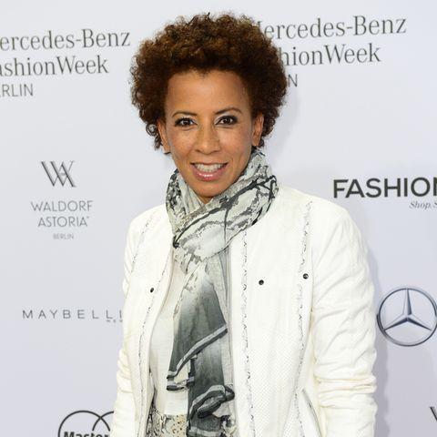 Arabella Kiesbauer auf dem Red Carpet.