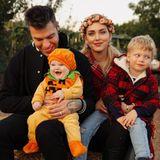 Sprösslinge: Chiara Ferragni feiert mit Familie erstes Halloween zu viert