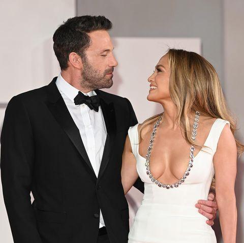 Ben Affleck und Jennifer Lopez bei einer Filmpremiere im September 2021