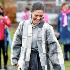 Prinzessin Victoria lächelt