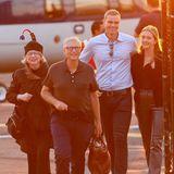 Bill Gates und die Familie reisen zur Hochzeit von Jennifer Gates