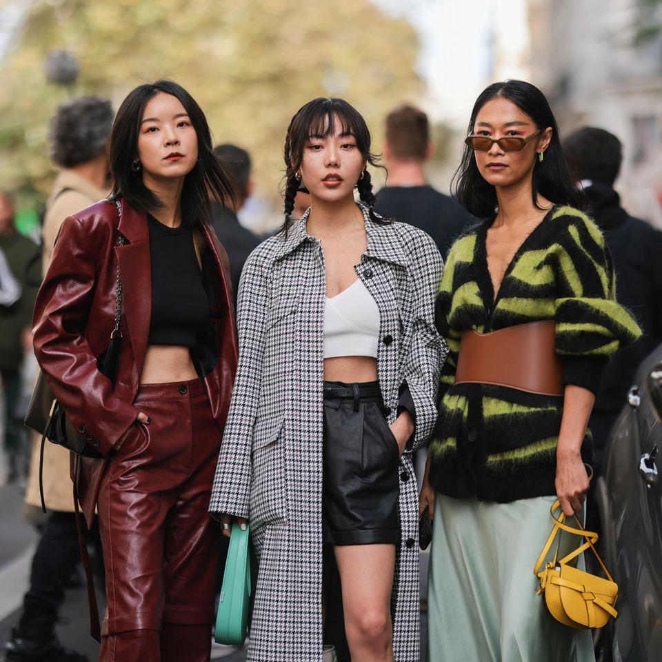 Street-Style auf der Pariser Fashion Week 2021